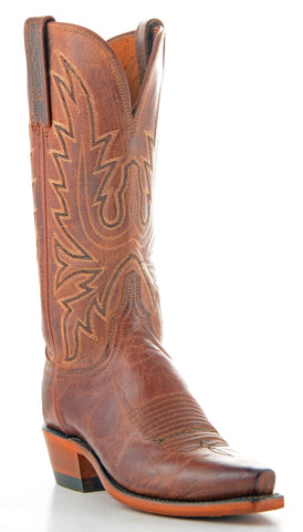 Women's Lucchese Mad Dog Goat Boots Peanut Brittle #N7648-5/4