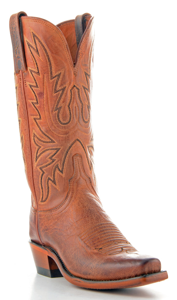 Women's Lucchese Mad Dog Goat Boots Peanut Brittle #N7648-7/4 view 1