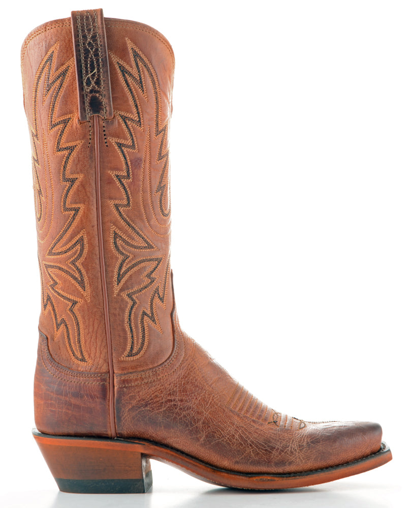 Women's Lucchese Mad Dog Goat Boots Peanut Brittle #N7648-7/4 view 4