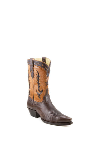 Women's Allens Brand Shelby Boots Nicotine/Tan #PR ALL-SHELBY10STP4-A