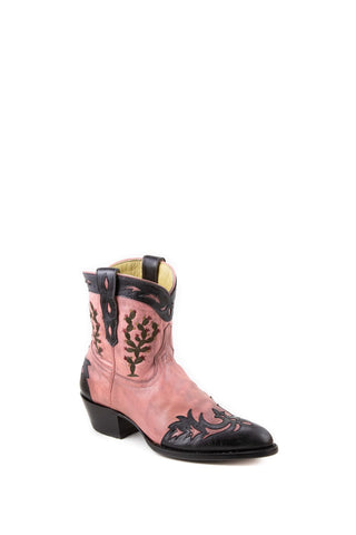 Women's Allens Brand Tucson Boots Pink/Black #PR ALL-TUCSON7STSP-A