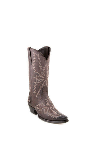 Women's Allens Brand Tyler Chocolate Boots #PR ALL-TYLER12STP4-A