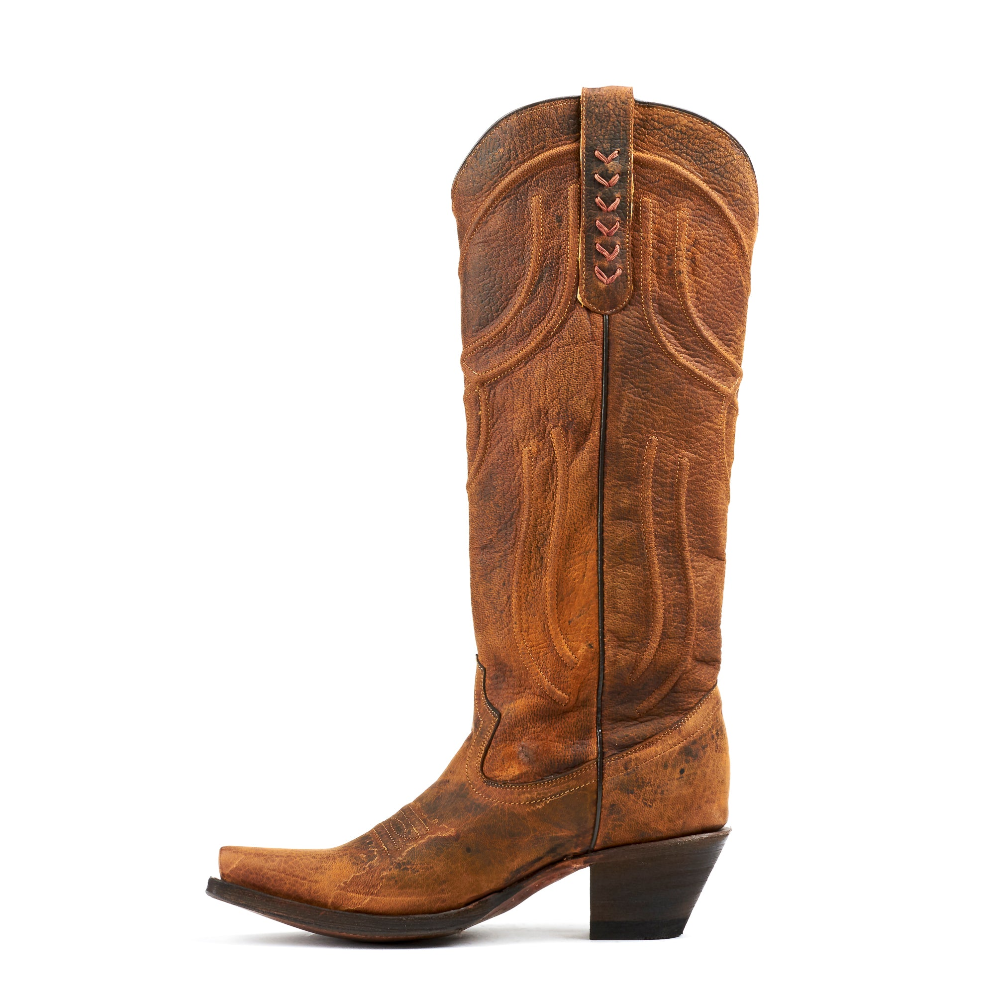 5f4573eb3b6 Women's Corral Boots Brown Woven #R1418 – Allens Boots