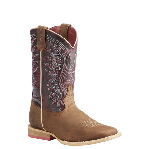 Kid's Ariat Vaquera Boot Brown #10023071