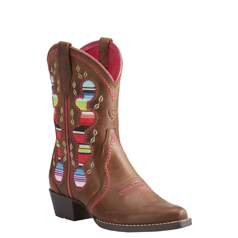 Kid's Ariat Desert Diva Boots Distressed Brown #10023077