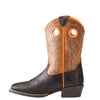 Kid's Ariat Heritage Roughstock Boot Brown #10023093