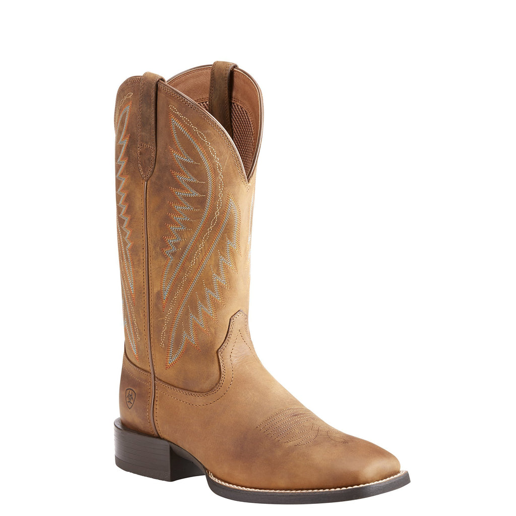 Men's Ariat Boots Stonewall Distressed Brown #10023143 view 1
