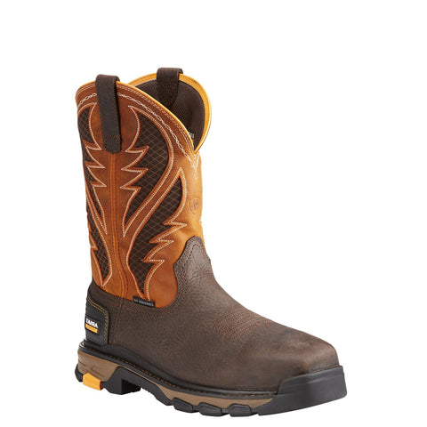 Men's Ariat Intrepid VentTEK Composite Toe Work Boot Brown #10023042