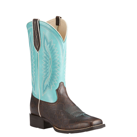 Women's Ariat Quickdraw Legacy Boot Brown #10023141