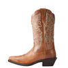 Women's Ariat Round Up Western Boot Wood Brown #10023155
