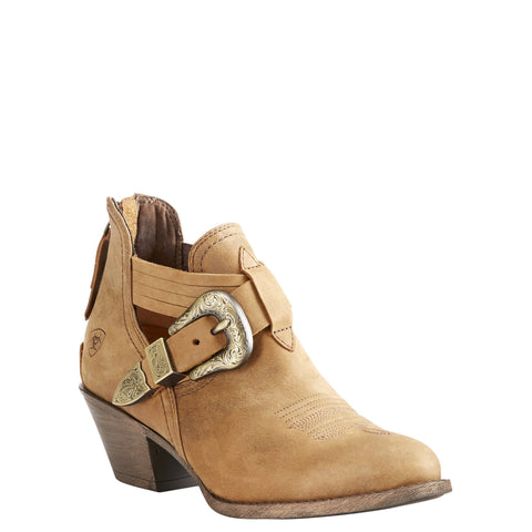 Women's Ariat Dulce Ankle Boot Tawny #10023193