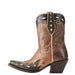 Women's Ariat Juanita Western Boot Warm Stone Brown #10023197 view 3
