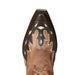 Women's Ariat Juanita Western Boot Warm Stone Brown #10023197 view 5