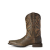 Men's Ariat Sport Herdsman Boots Brooklyn Brown #10027209