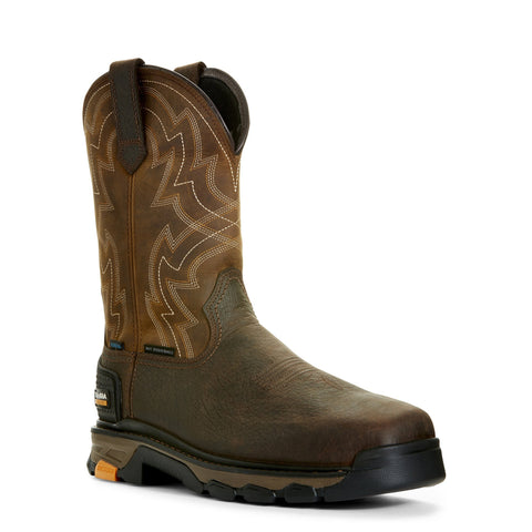 Men's Ariat Intrepid Force H2O CT Earth Boots #10027315