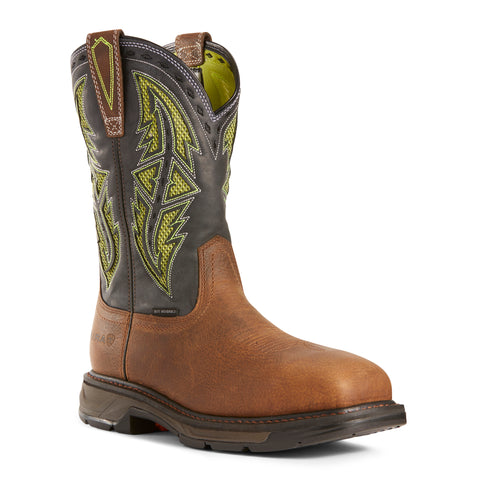 Men's Ariat Workhog XT VentTEK Spear Carbon Toe Boots #10027307