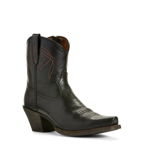 Women's Ariat Lovely Boots Jackal Black #10027262
