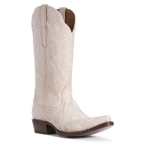 Women's Ariat Sterling Boots Crackled White #10027236