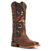 Women's Ariat Baja VentTEK Boots Weathered Russet #10027374