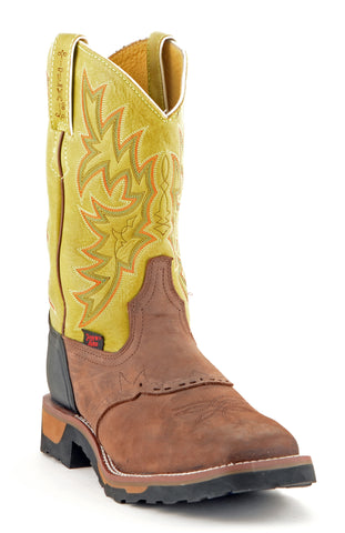 Men's Tony Lama Prairie Dark Brown #TW1058