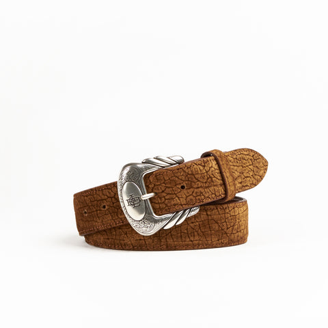Allens Boots Exclusive Straight Tan Hippo Belt #5HH-U