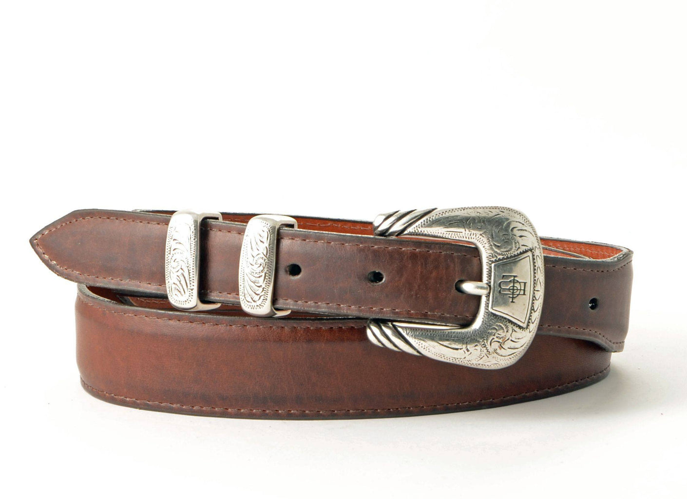 Lucchese Taper Tan Ranch Hand Belt #W03998 view 1