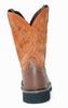 Men's Justin Rugged Tan Comp Toe Boots #WK4812