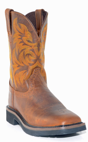 Men's Justin Tan Tail Boots #WK4822