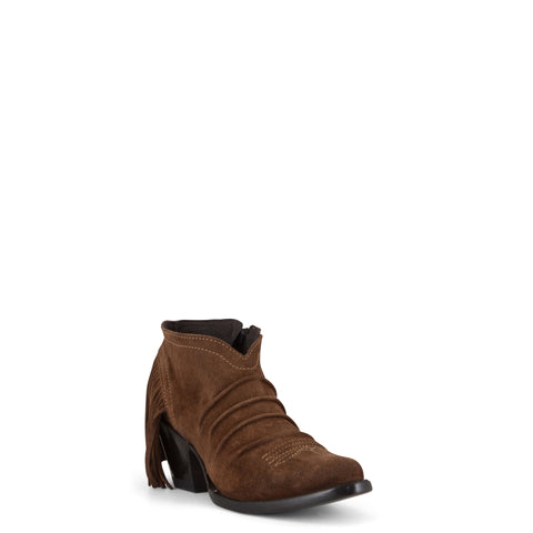 Women's Yippee Ki Yay by Old Gringo Boots Frankie Suede Brown #YBL238-4