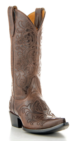 Women's Yippee Ki Yay by Old Gringo Ashton Boots Brown #YL001-9