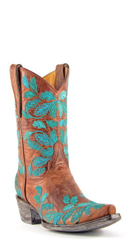 Women's Yippee Ki Yay by Old Gringo Mahlia Boots Brass #YL047-3
