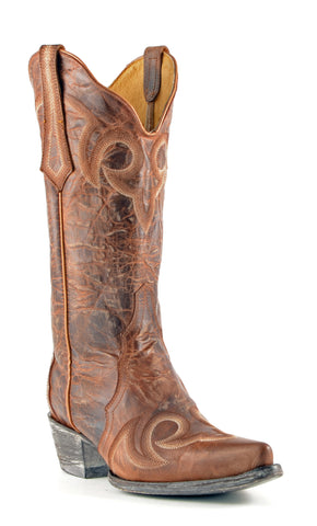 Women's Yippee Ki Yay by Old Gringo Celeste Remastered Boots Oryx #YL059-2