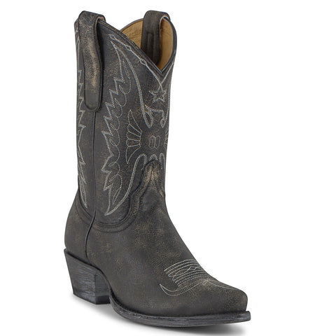 Women's Yippee Ki Yay by Old Gringo Sam Eagle Boots Black #YL044-1