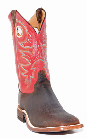 Men's Justin Rough Rider Tobacco Boots #BR737