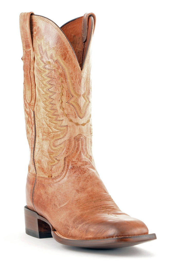 Men's Lucchese Mad Dog Goat Boots Tan #CL7793 view 1