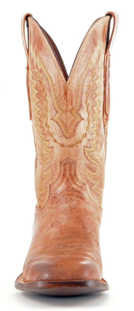 Men's Lucchese Mad Dog Goat Boots Tan #CL7793 view 3