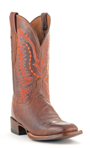Men's Lucchese Jersey Calf Boots Tan #CL7794