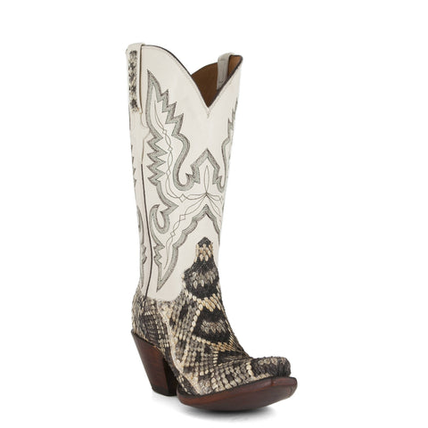 Women's Lucchese Classics Boots Eastern Rattlesnake #GD9193-5/2F