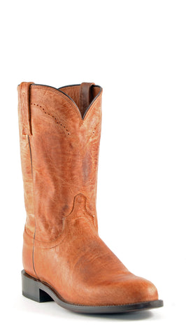 Men's Lucchese Mad Dog Goat Boots Roper Tan #M1017