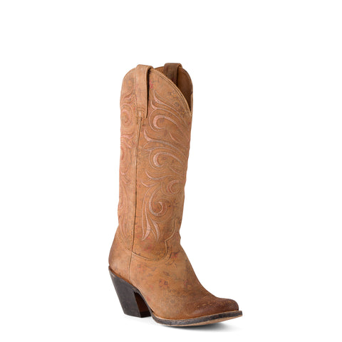 Women's Lucchese Floral Printed Fashion Boots #M4951