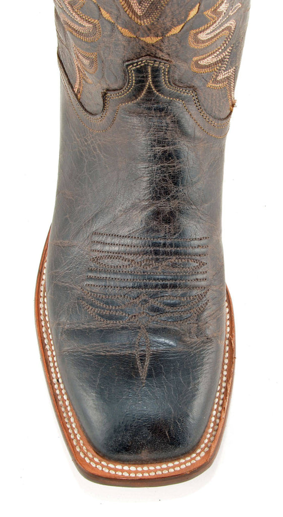 Men's Lucchese Mad Dog Goat Boots Chocolate #CL7792 view 2