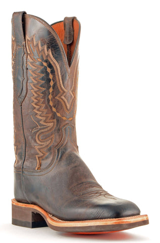 Men's Lucchese Mad Dog Goat Boots Chocolate #CX7792