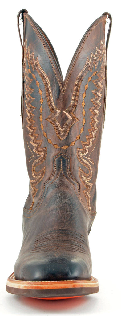 Men's Lucchese Mad Dog Goat Boots Chocolate #CX7792 view 3
