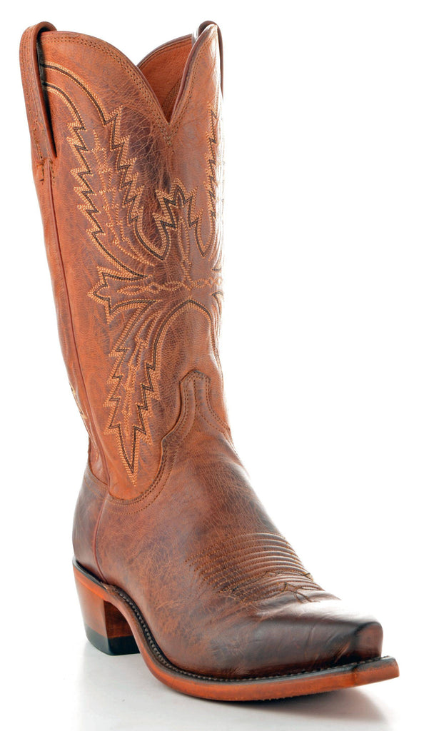 Men's Lucchese Mad Dog Goat Boots Peanut Brittle #N7647-5/4 view 1