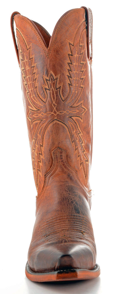 Men's Lucchese Mad Dog Goat Boots Peanut Brittle #N7647-5/4 view 3