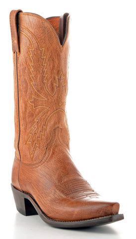 Men's Lucchese Mad Dog Goat Boots Tan #N1547-5/4