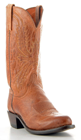 Men's Lucchese Mad Dog Goat Boots Tan #N1547-R/4