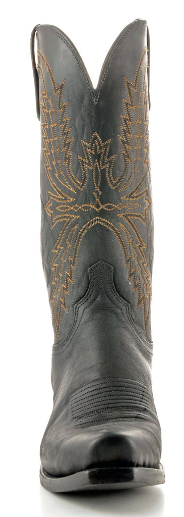 Men's Lucchese Mad Dog Goat Black Boots #N1560-7/4 view 3