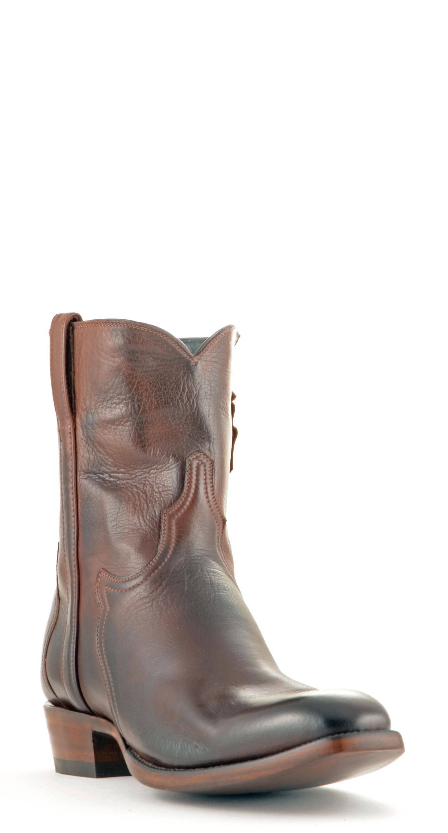 fa1c06b54f4 Men's Lucchese Classics Baby Buffalo Boots Wyoming Brown #F5053 ...