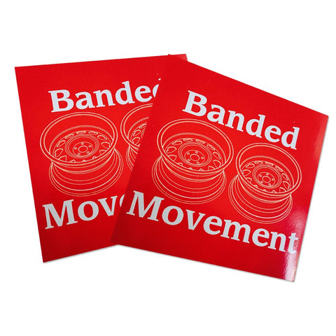 Banded Movement (Sticker Pack)